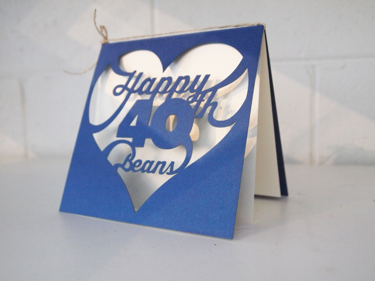 40 Birthday Card Ideas Custom 40th Birthday Card