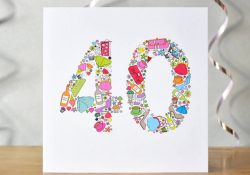 40 Birthday Card Ideas Girlie Things 40th Birthday Card