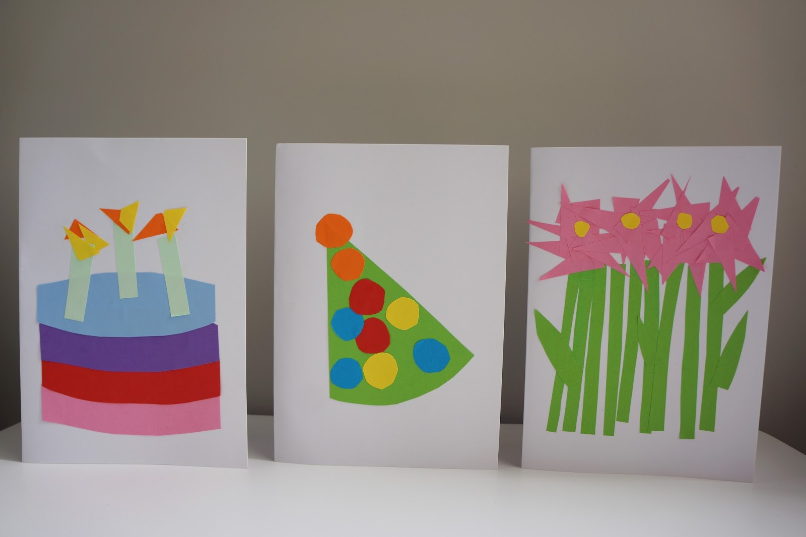 Birthday Card Handmade Ideas How To 3 Easy Birthday Card Crafts To Do With Toddlers Wave To Mummy