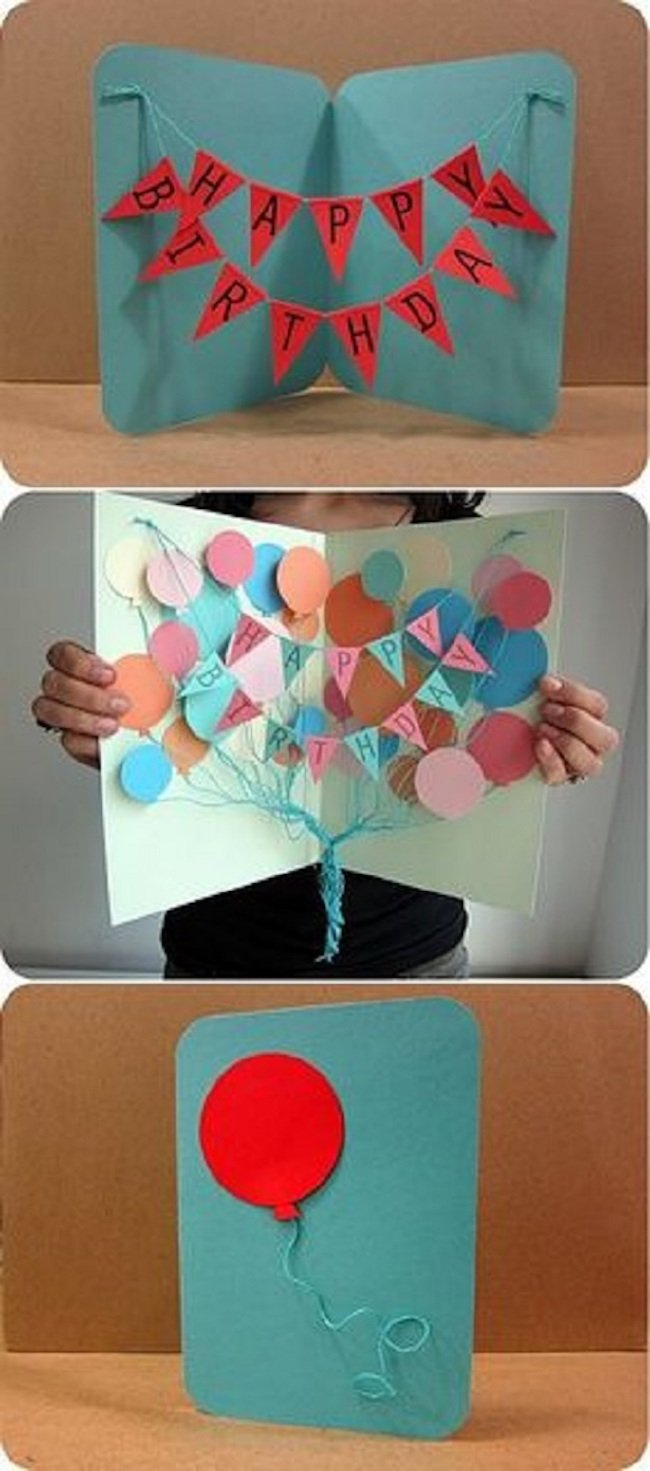 Birthday Card Idea 32 Handmade Birthday Card Ideas For The Closest People Around You