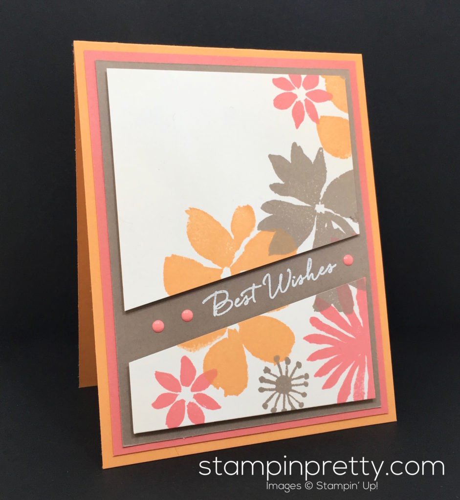 Birthday Card Idea Blooms Wishes Birthday Card Stampin Pretty