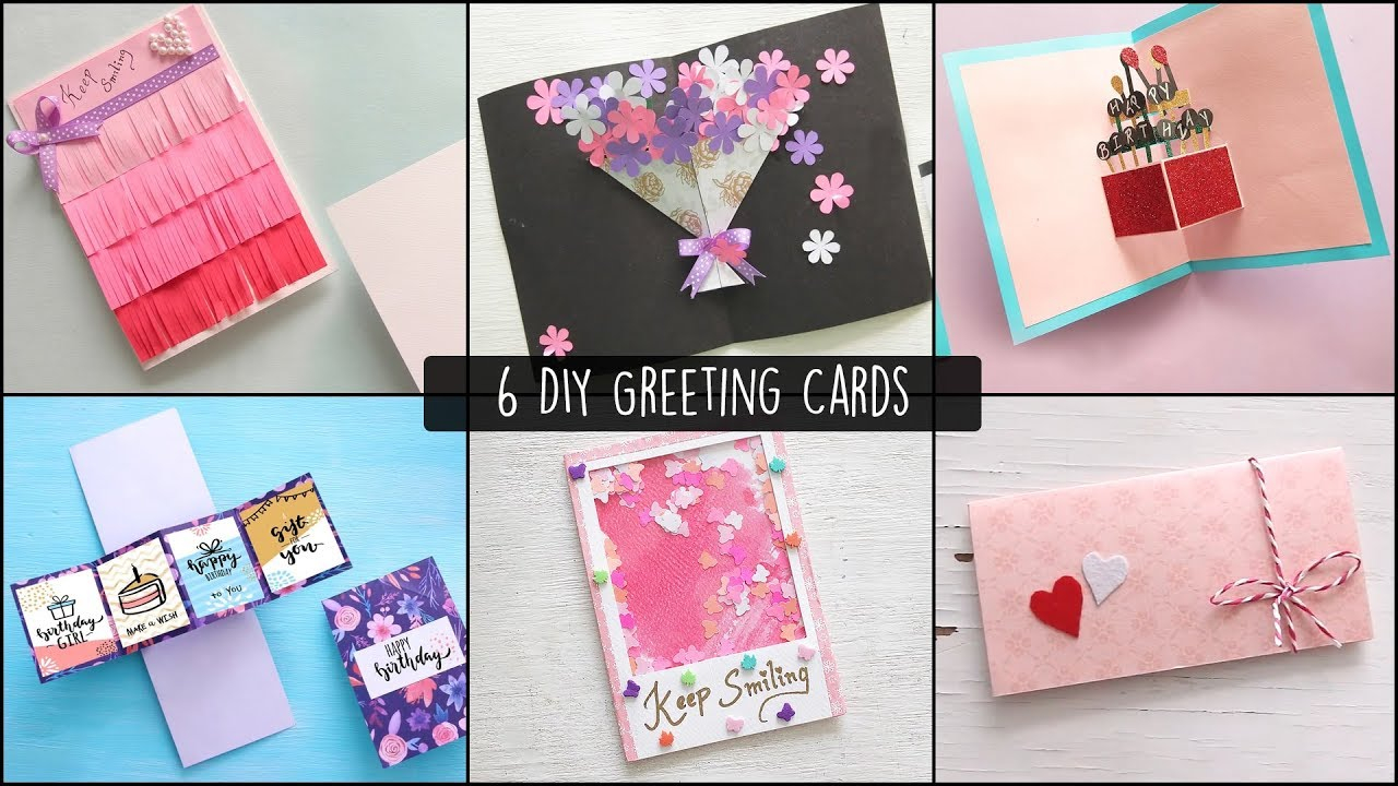Birthday Card Ideas For 13 Year Old 6 Easy Greetings Cards Ideas Handmade Greeting Cards