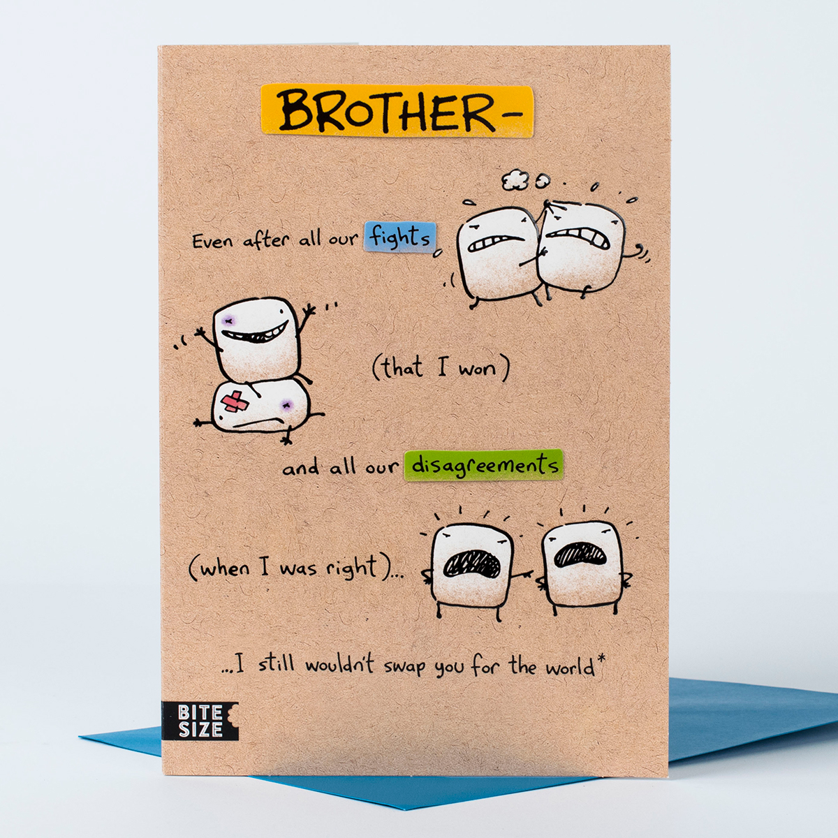 Birthday Card Ideas For Brother Birthday Card I Wouldnt Swap You Brother