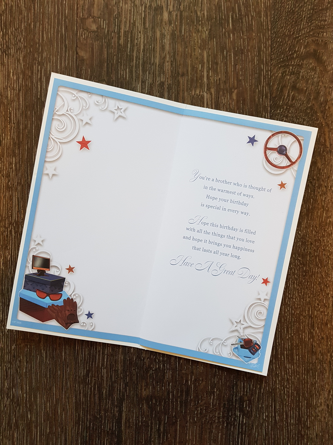 Birthday Card Ideas For Brother Brother Have A Wonderful Day Birthday Card Remember That Card