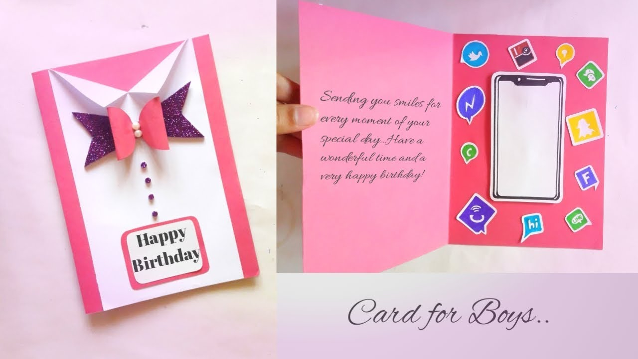 Birthday Card Ideas For Brother Greeting Card Idea For Boys Brother Friend Simply Beautiful