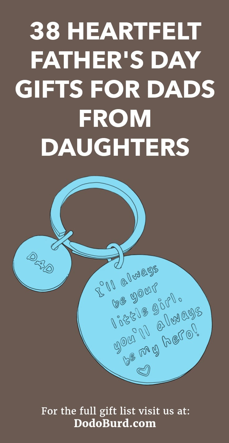 Birthday Card Ideas For Dad From Daughter 38 Heartfelt Fathers Day Gifts For Dads From Daughters Dodo Burd