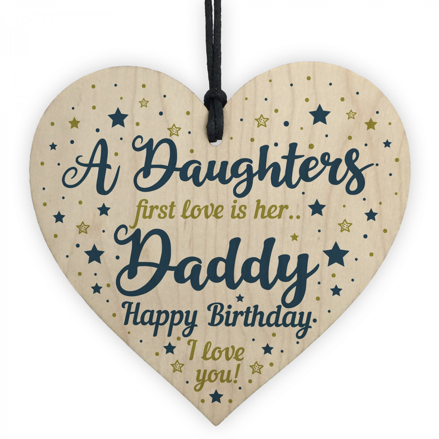 Birthday Card Ideas For Dad From Daughter Daddy Gifts From Daughter Dad Birthday Gifts Wood Heart Dad Card