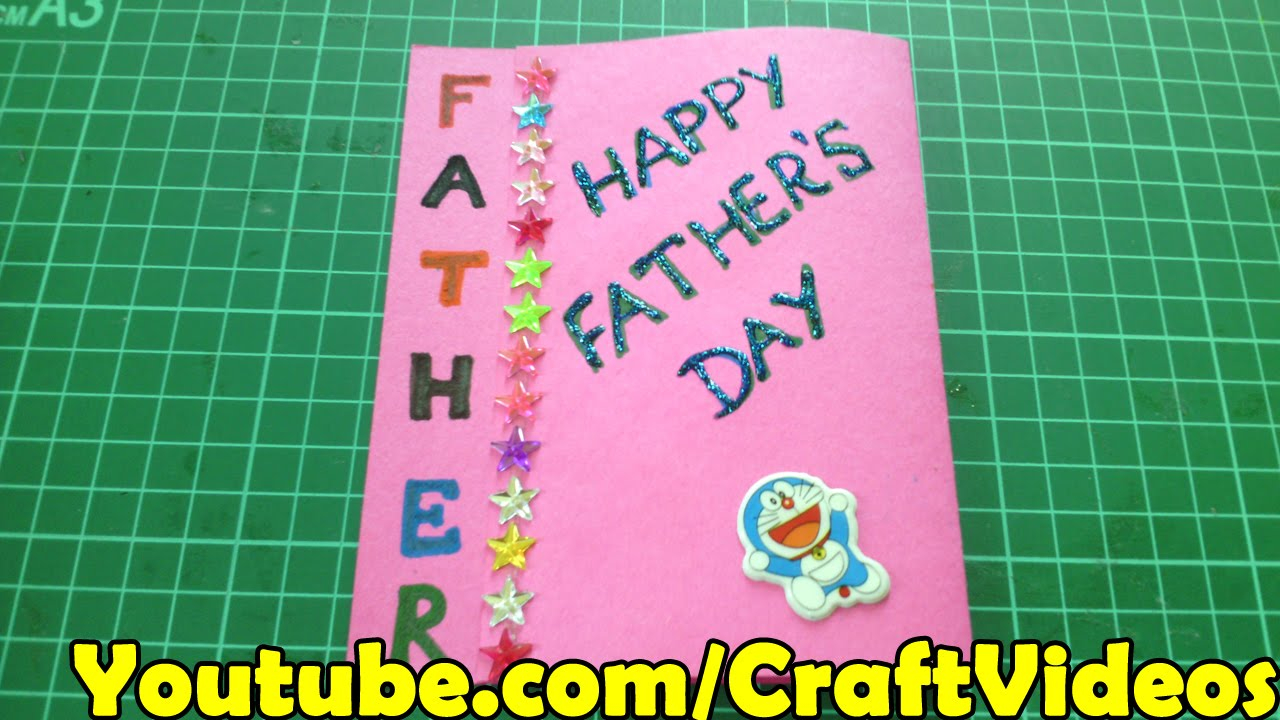 Birthday Card Ideas For Dad From Kids Fathers Day Easy Card Ideas For Kids And Making Tutorial Happy Fathers Day Cards