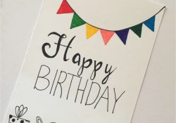 Birthday Card Ideas For Friend How To Make Diy Birthday Cards For Best Friend Simple Handmade