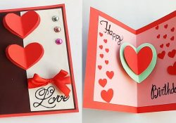 Birthday Card Ideas For Him How To Make Birthday Card For Boyfriend Or Girlfriend Handmade Birthday Card Idea
