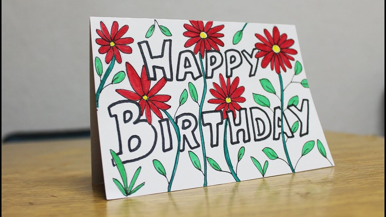 Birthday Card Ideas For Mother Beautiful Birthday Card For Mom Handmade Card Design Ideas