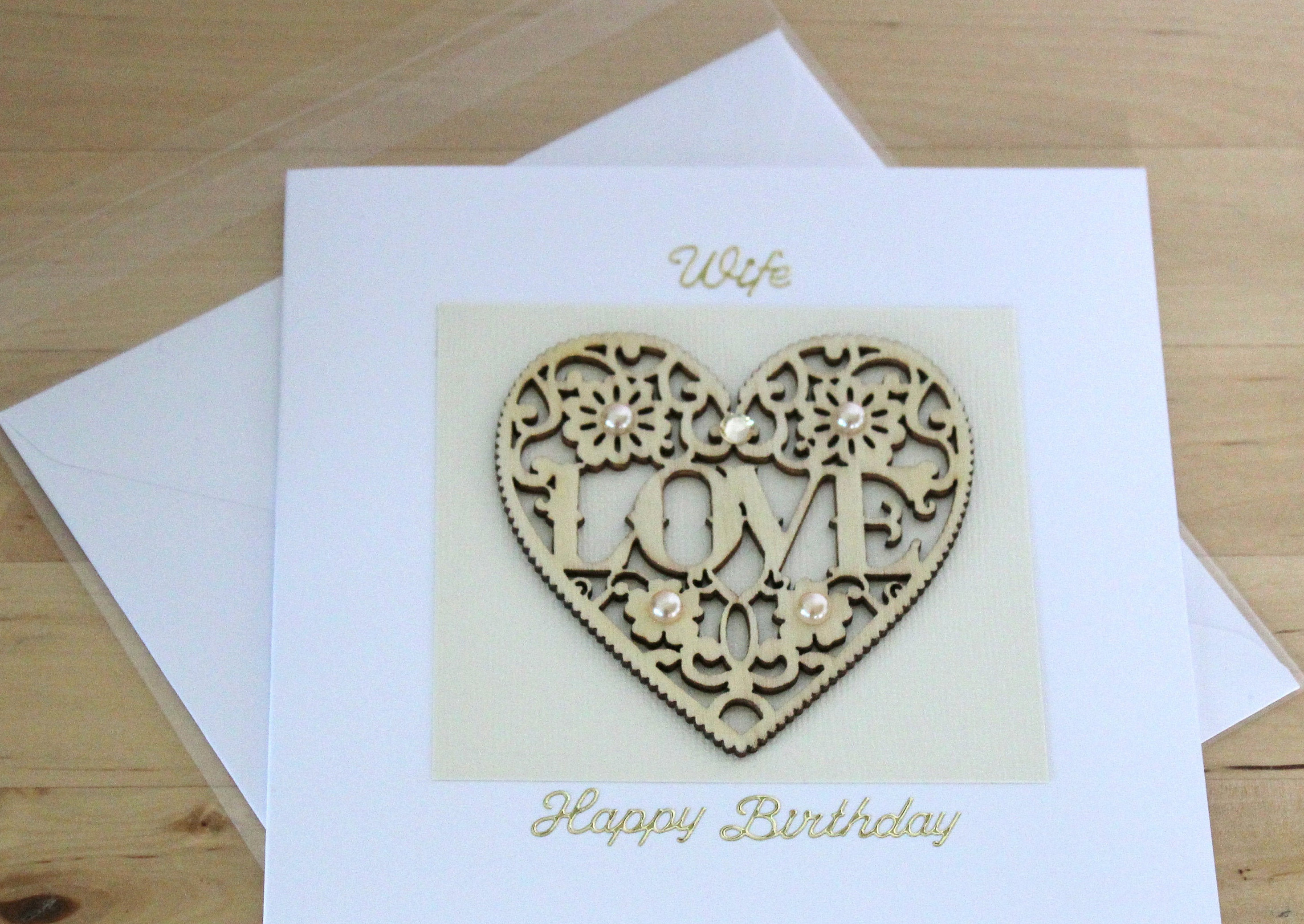 Birthday Card Ideas For Wife Luxury Unique Wife Birthday Card Gift Wife Birthday Card Gift Wife Wooden Birthday Card Gift Heart Birthday Card Gift For Wife