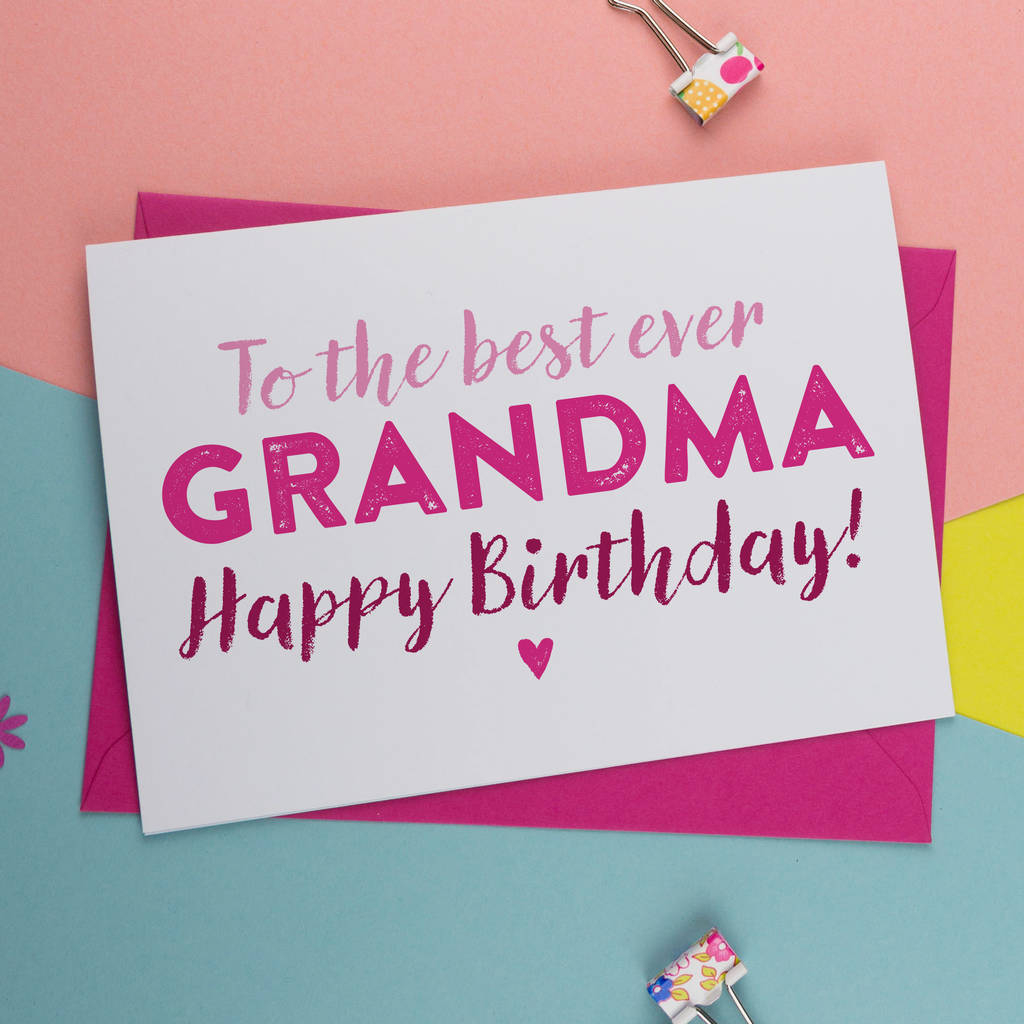 Birthday Cards For Grandma Ideas Birthday Card For Gran Nan Nanny Granny Grandma