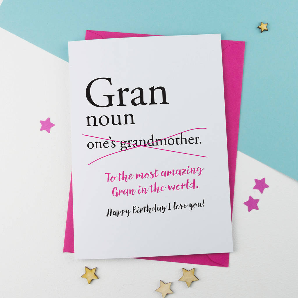 Birthday Cards For Grandma Ideas Nanna Nanny Gran Granny Grandma Nan Birthday Card