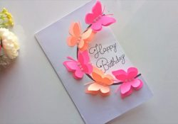 Birthday Greeting Card Making Ideas Beautiful Handmade Birthday Card Idea Diy Greeting Pop Up Cards For Birthday