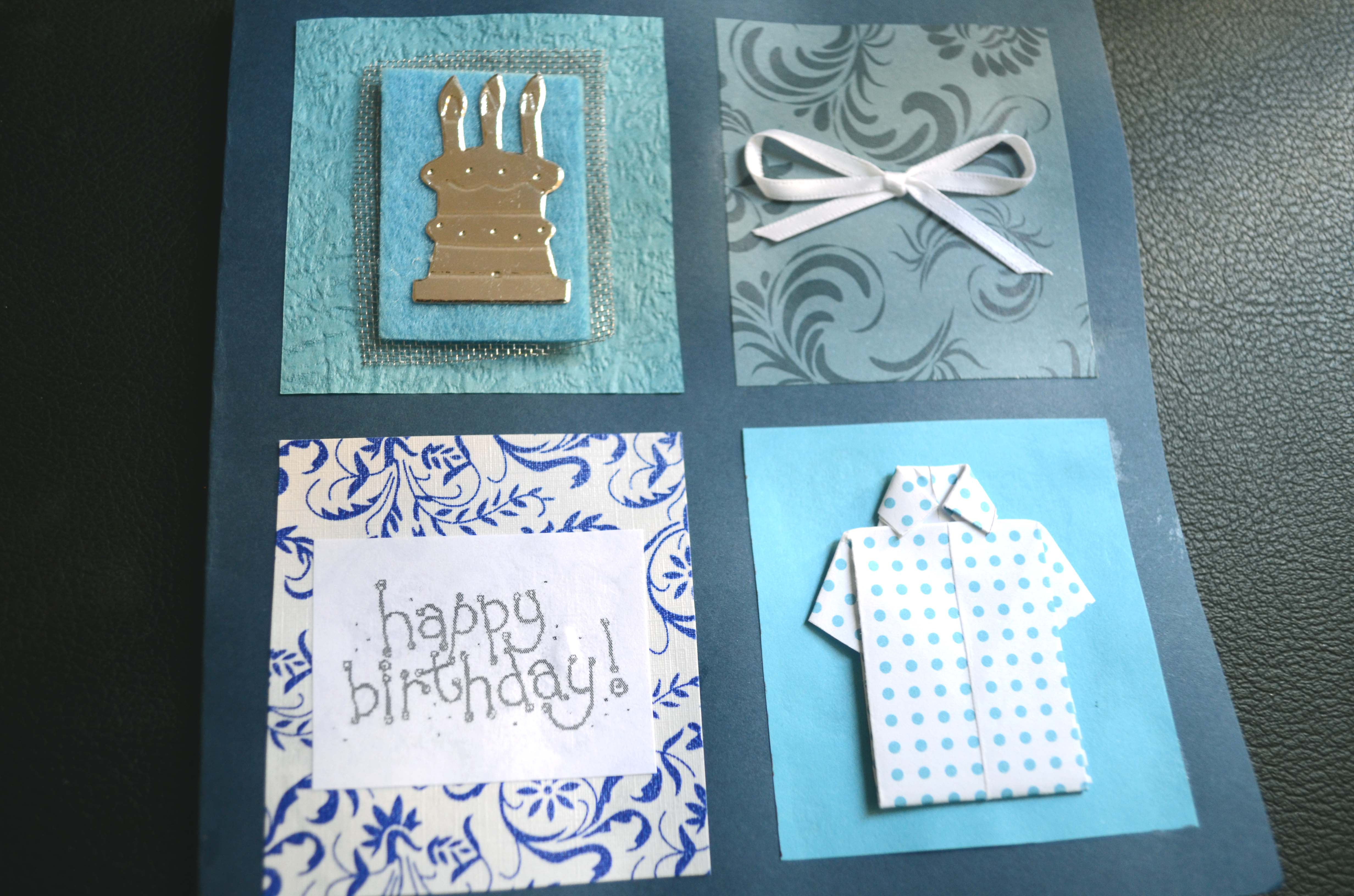 Birthday Greeting Card Making Ideas Fun Fridays Diy Birthday Cards For Dads Bittersweet Haven