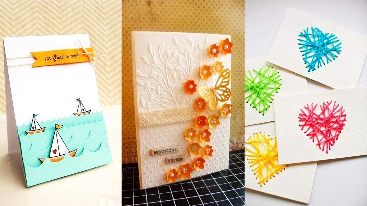 Card Making Ideas For Birthday The Best Diy Birthday Card Home Inspiration And Diy Crafts Ideas