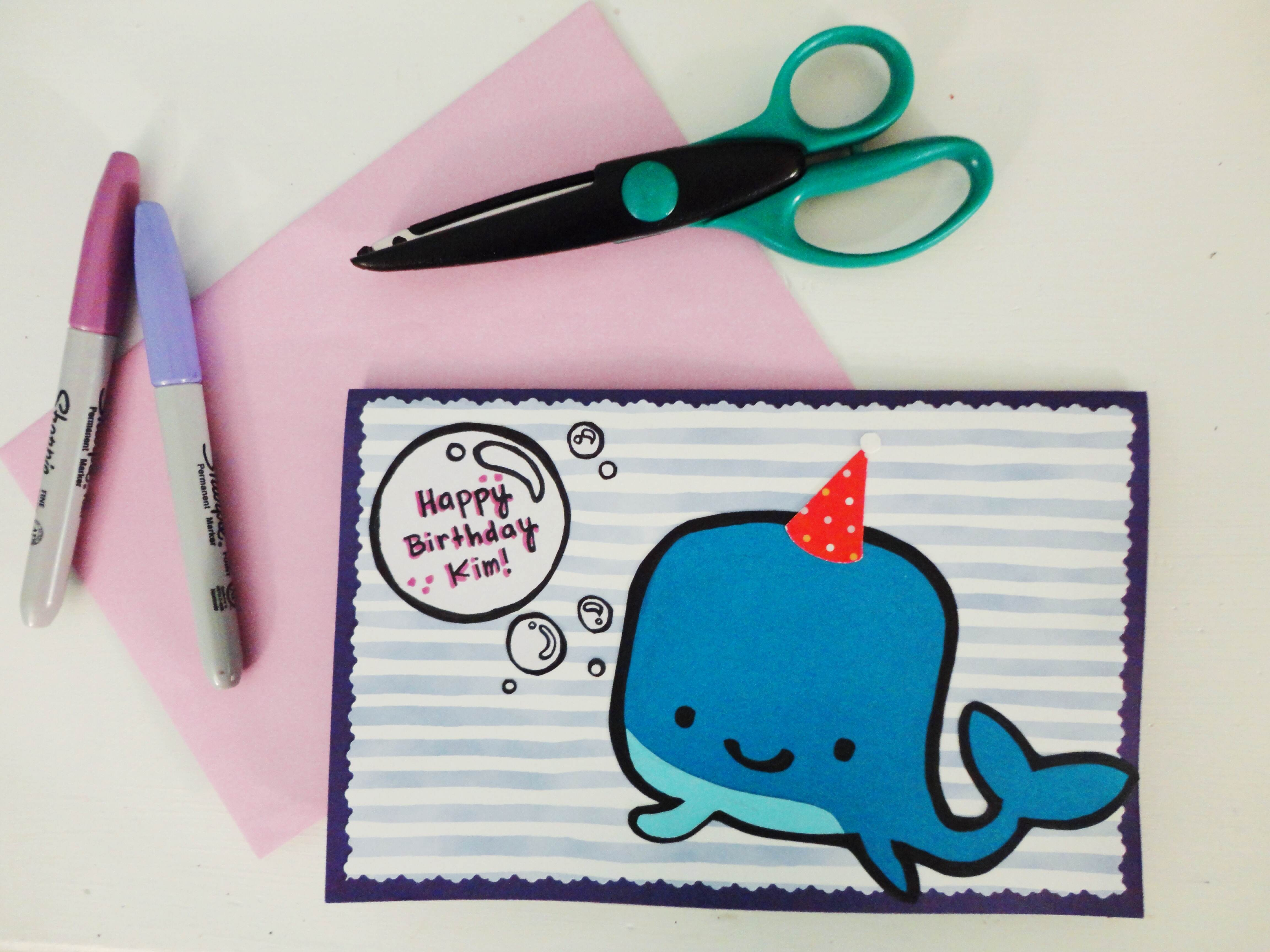 Card Making Ideas For Friends Birthday Inconvenient Friendships And A Birthday Card Diy The Diy Chacaruna