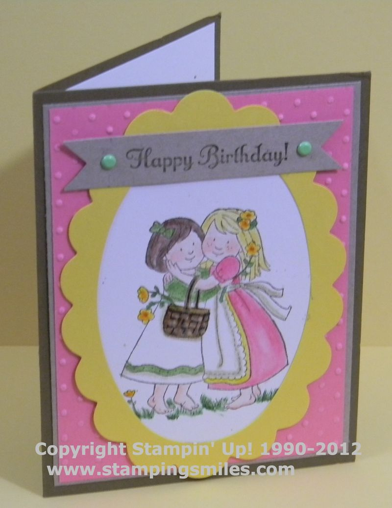 Card Making Ideas For Friends Birthday Stampin Up Card Ideas Stamping Smiles