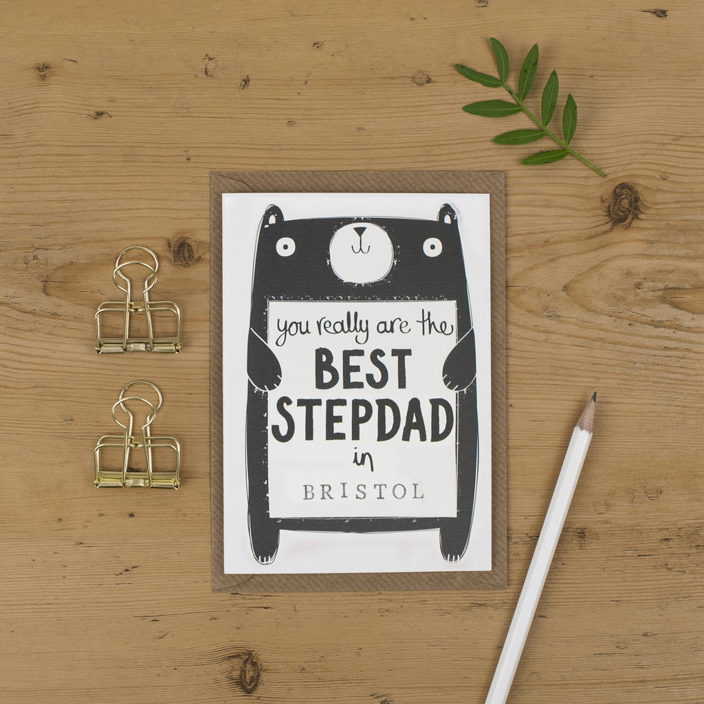 Cards For Dads Birthday Ideas Best Stepdad Birthday Card