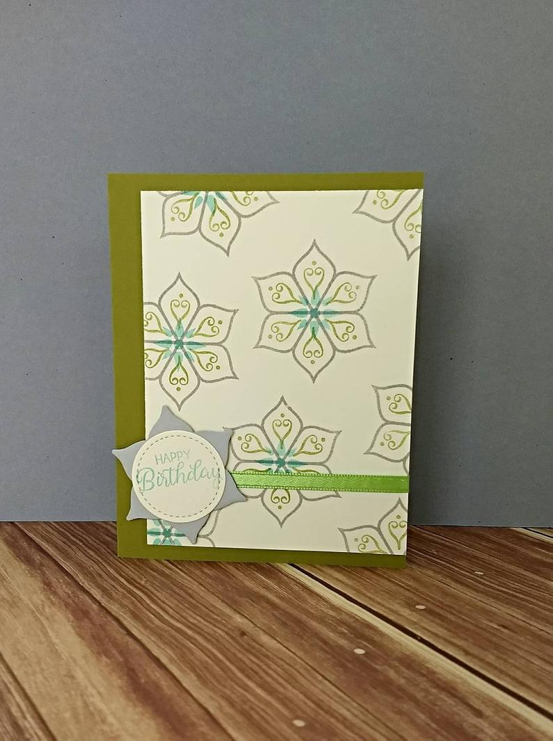 Creative Birthday Card Ideas For Girlfriend Birthday Card Mom Birthday Sister Birthday Birthday Gift Girlfriend Card Stampin Up Card Greeting Card Handmade Card Stamped Card