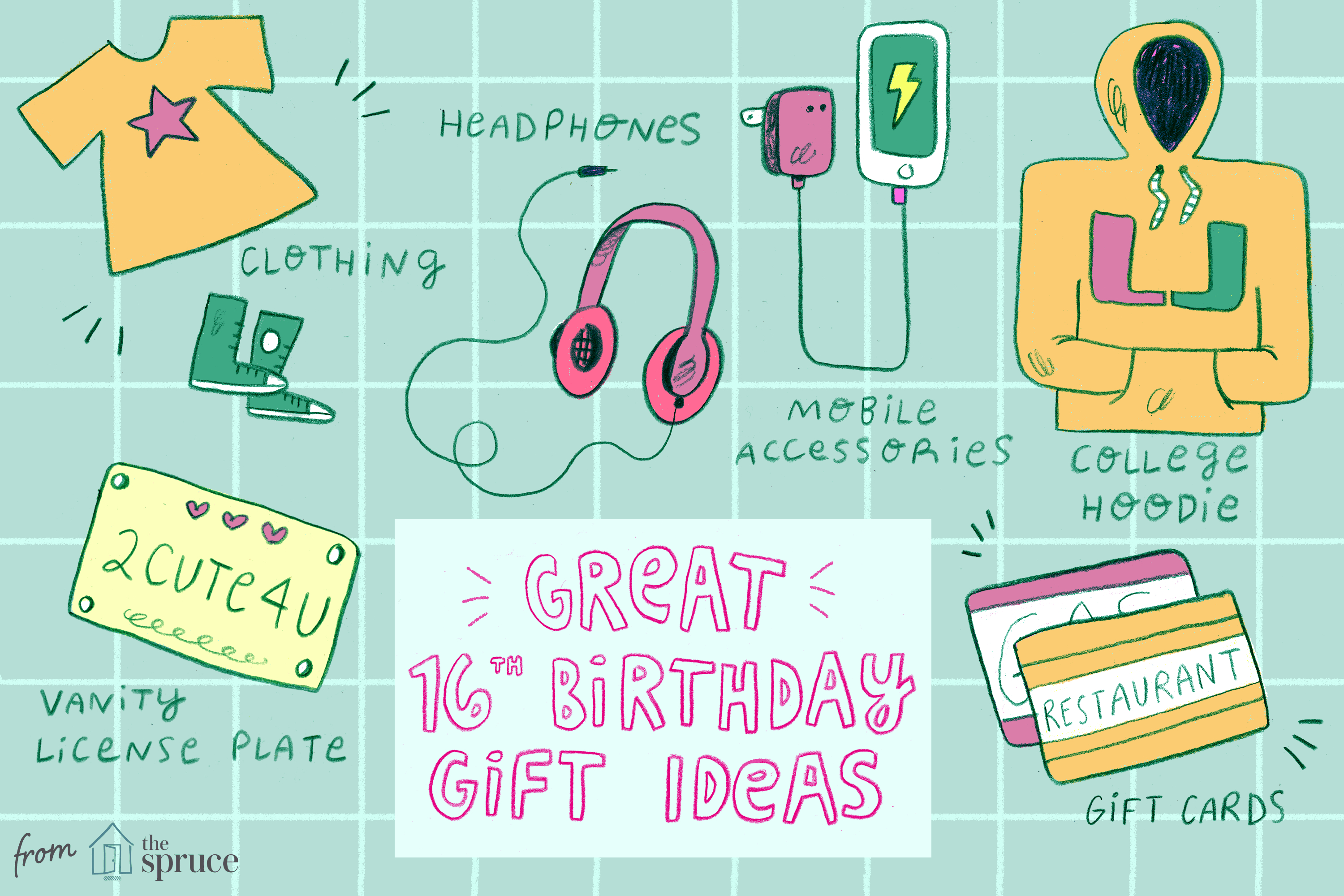 Cute Birthday Card Ideas For Girlfriend 20 Awesome Ideas For 16th Birthday Gifts