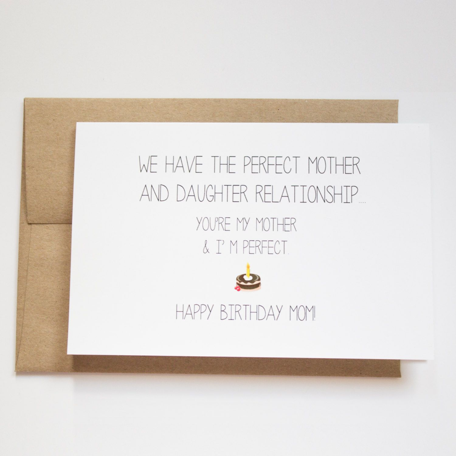 Cute Card Ideas For Birthday Cards Cute Birthday Cards For Mom Amusing Happy Birthday Mom Card