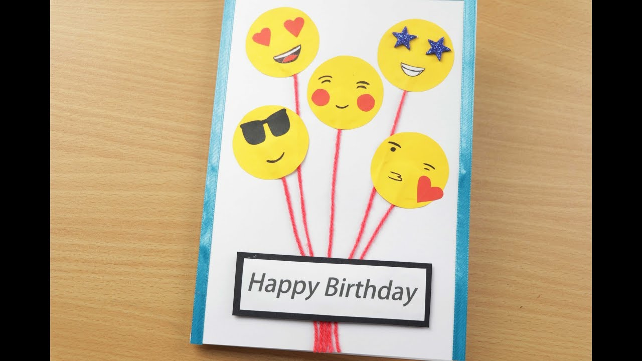 Cute Card Ideas For Birthday Handmade Birthday Cardbirthday Balloon Pop Up Cardbirthday Greeting Card Ideascute Birthday Card