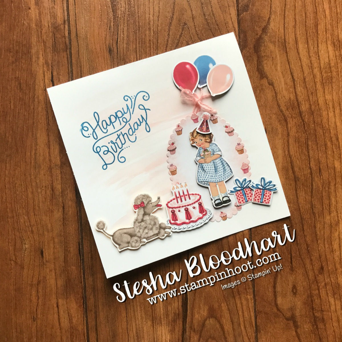 Easy Birthday Card Ideas For Friends Quick And Easy Birthday Card With Birthday Delivery Bundle Stampin