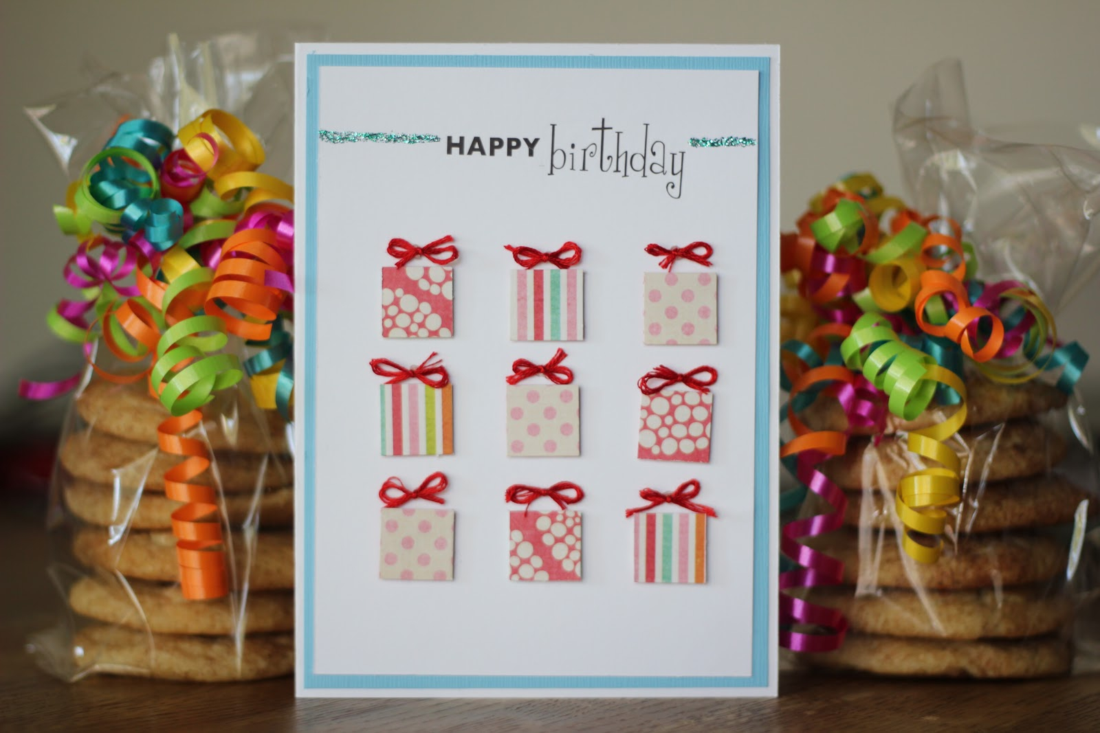 Easy Birthday Card Ideas For Friends Three Yellow Lemons Lots Of Presents Birthday Card