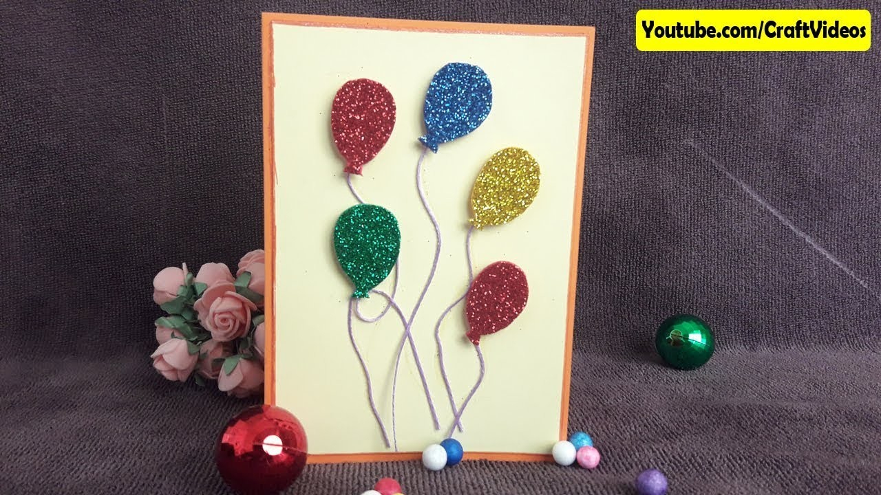 Easy Birthday Card Ideas For Kids How To Make Handmade Greeting Cards Easy Ideas Simple For Kids