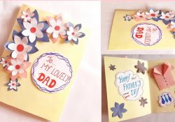 Father Birthday Card Ideas Greeting Card Idea For Dad Fathers Day Fathers Birthday