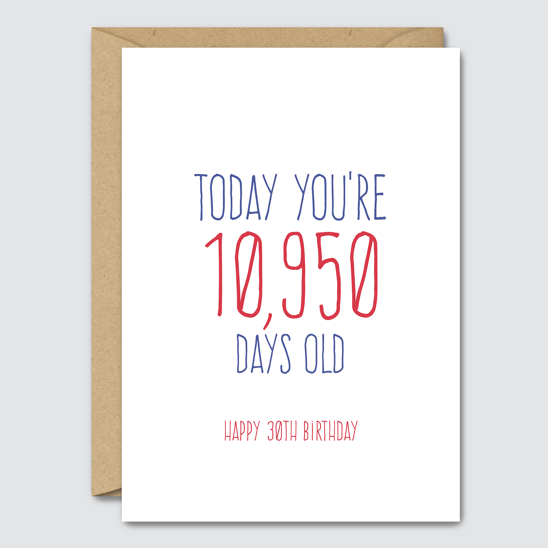 Funny Ideas For Birthday Cards Simple Funny 30th Birthday Card Congratulations 30 Happy Birthday