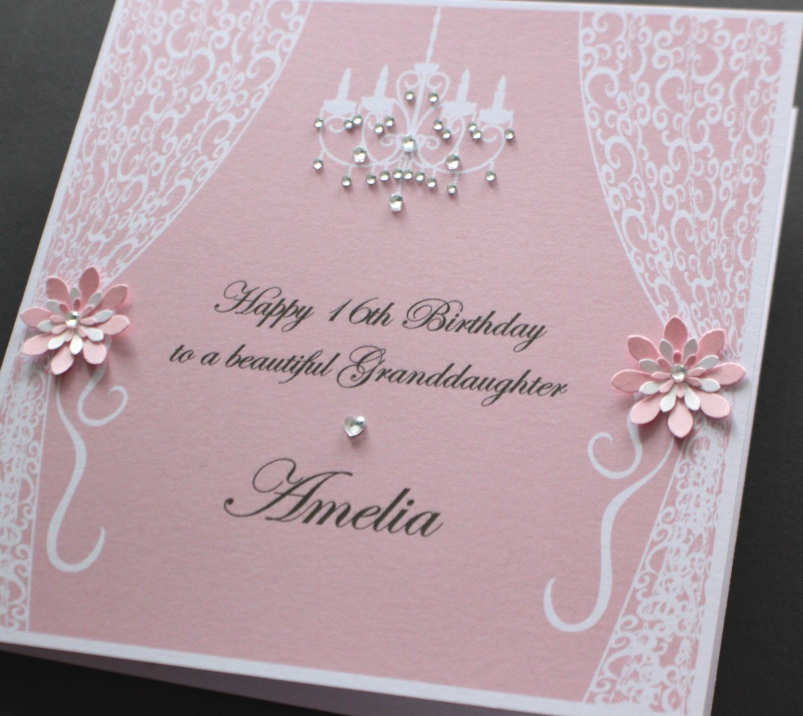Handmade 50Th Birthday Card Ideas Handmade Personalised Vintage Style Birthday Card Many Colours Daughter Mum 148mm Square
