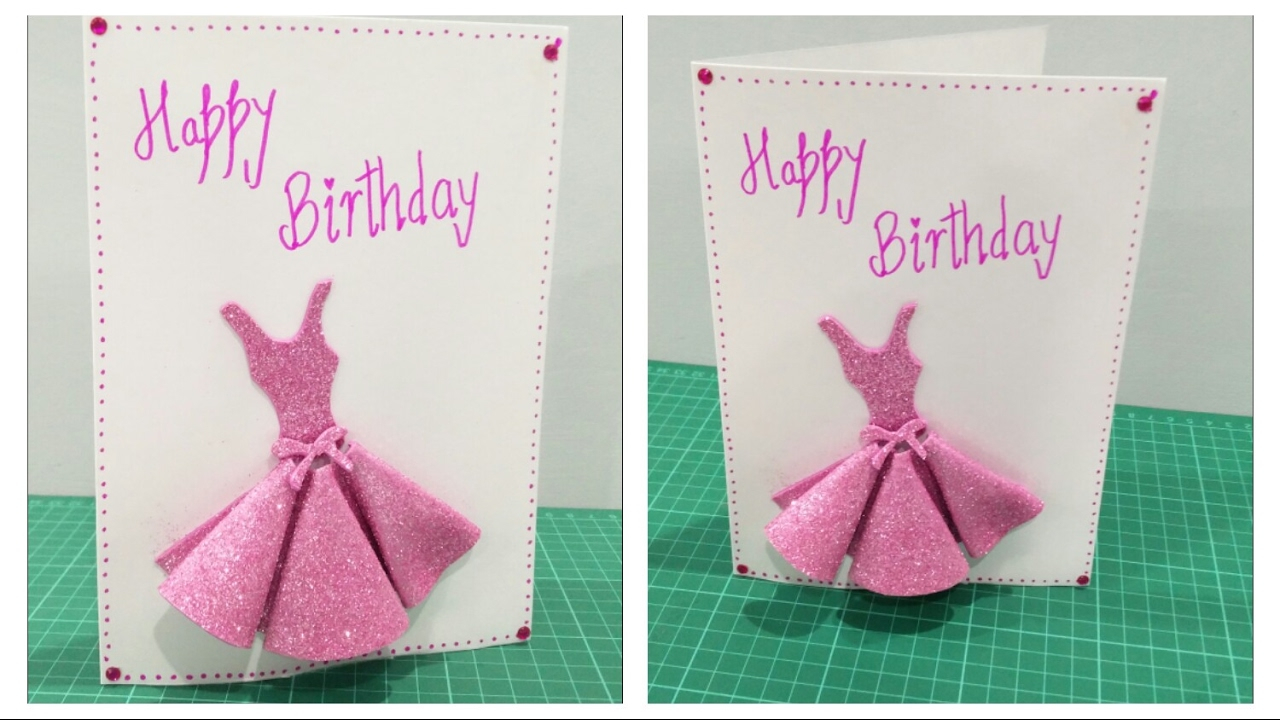 Handmade Birthday Card Ideas For Daughter Diy Birthday Card For Girls
