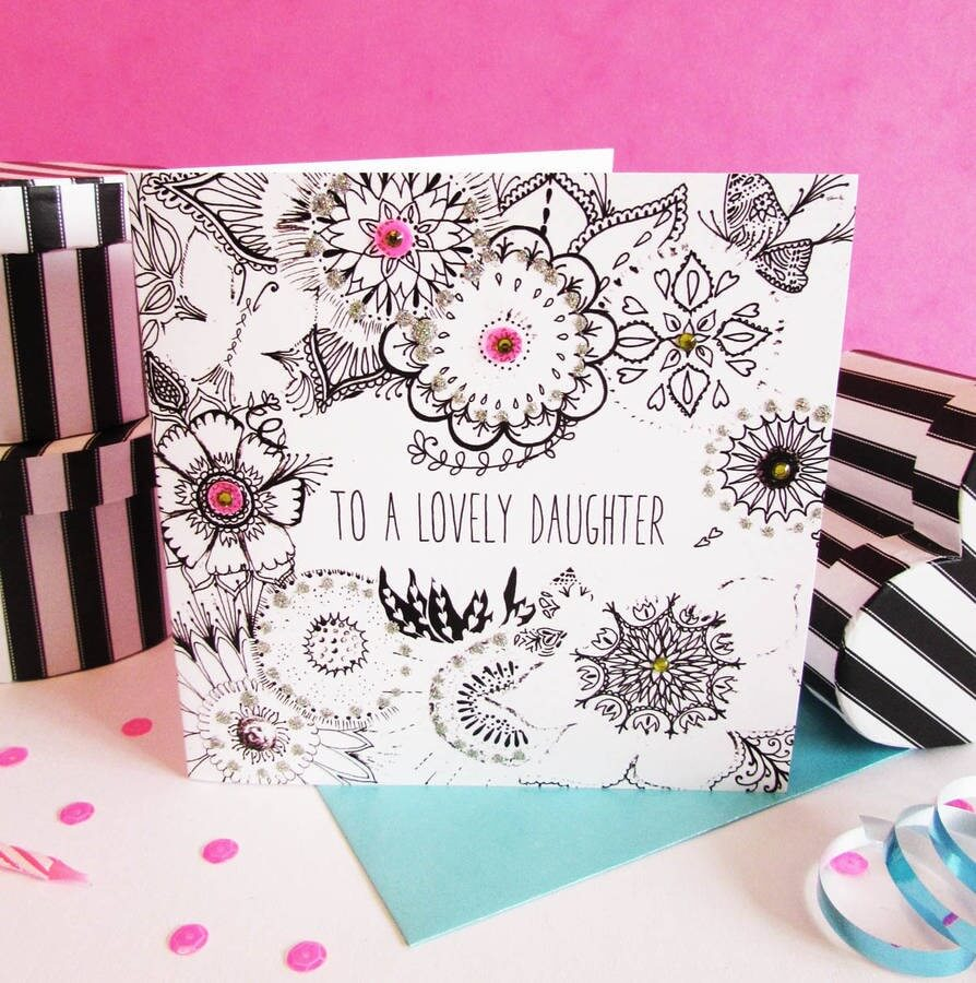 Handmade Birthday Card Ideas For Daughter Handmade Birthday Card Ideas Inspiration For Everyone The 2019