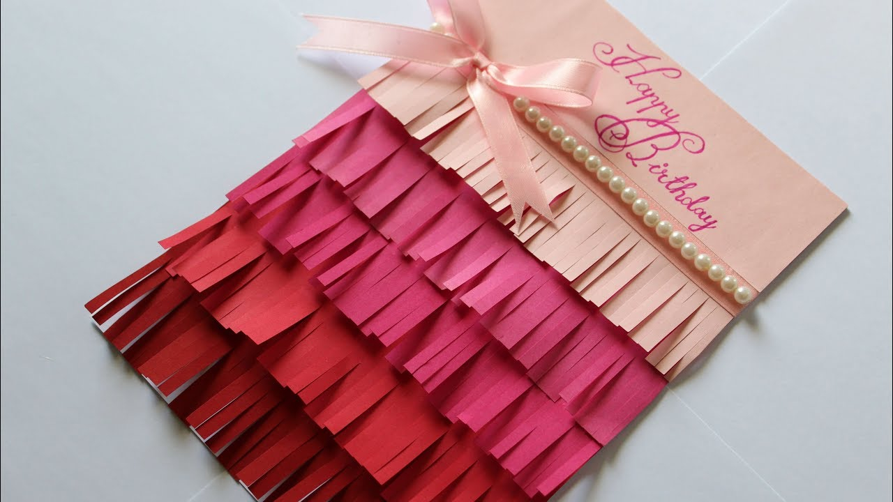 Handmade Birthday Card Ideas For Girlfriend A Cute Happy Birthday Card For Boyfriendgirlfriend Birthday Card Ideas