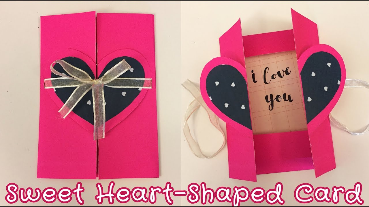 Handmade Birthday Card Ideas For Girlfriend Easy Pop Up Card For Boyfriend Girlfriend Sunny Diy