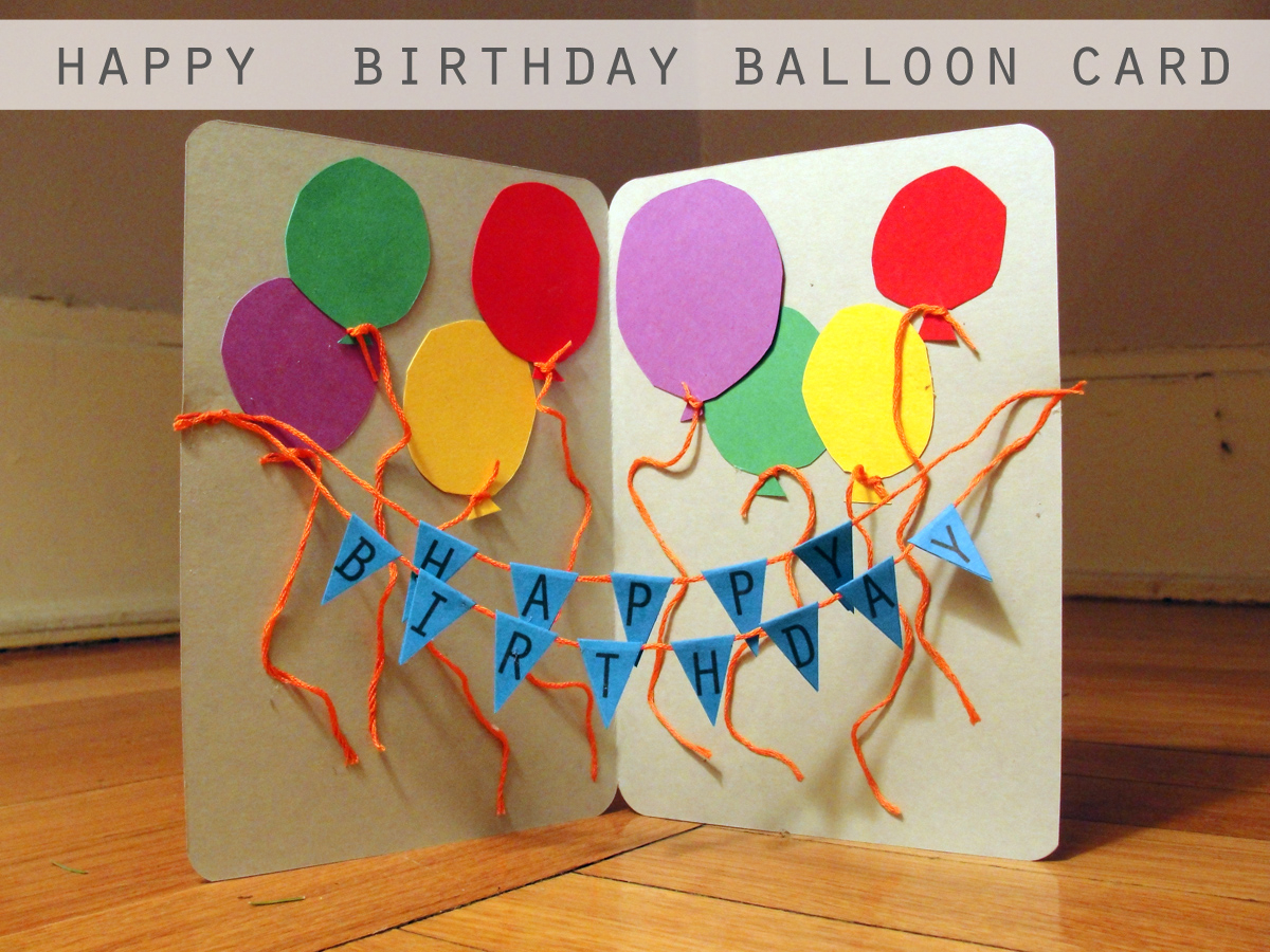 Handmade Birthday Invitation Cards Ideas Craft A Handmade Birthday Card Im Good