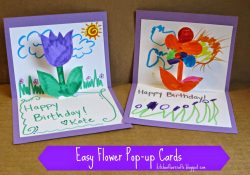Homemade Birthday Card Ideas For Aunt Homemade Birthday Cards For Kids To Create How Wee Learn