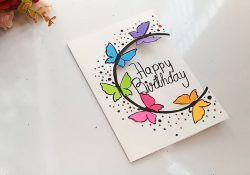 Homemade Birthday Card Ideas For Best Friend How To Make Special Butterfly Birthday Card For Best Frienddiy Gift Idea