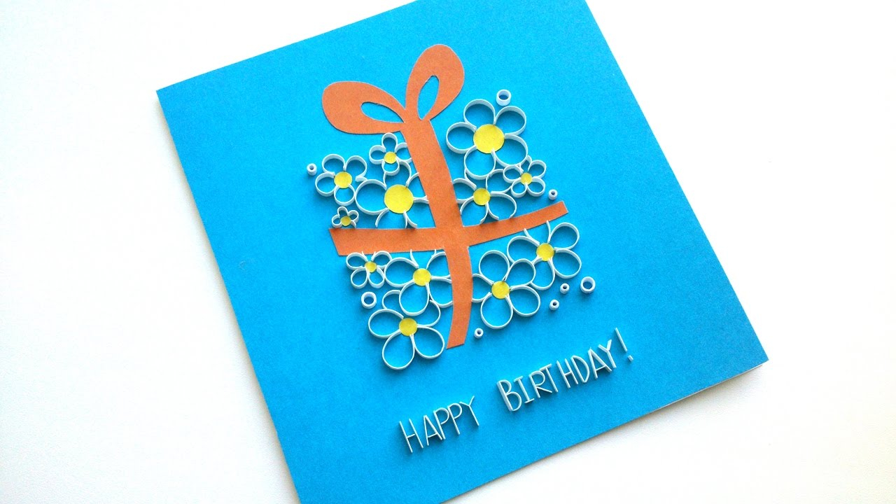 Idea For Birthday Cards How To Make A Beautiful Greeting Card Birthday Card Idea