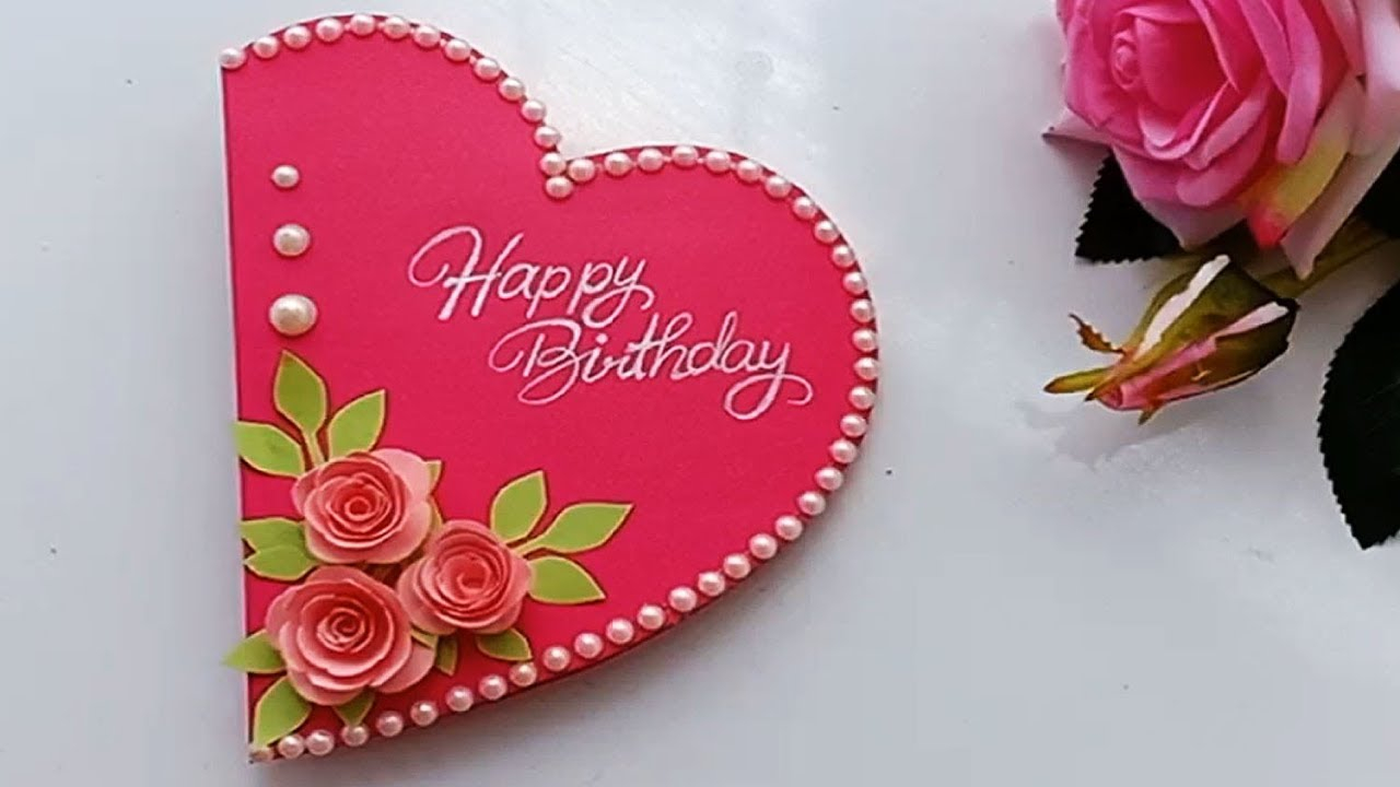 Idea For Birthday Cards How To Make Special Birthday Card For Best Frienddiy Gift Idea