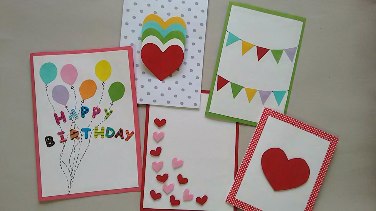 Idea For Making Birthday Cards Cards Greeting Cards Ataumberglauf Verband