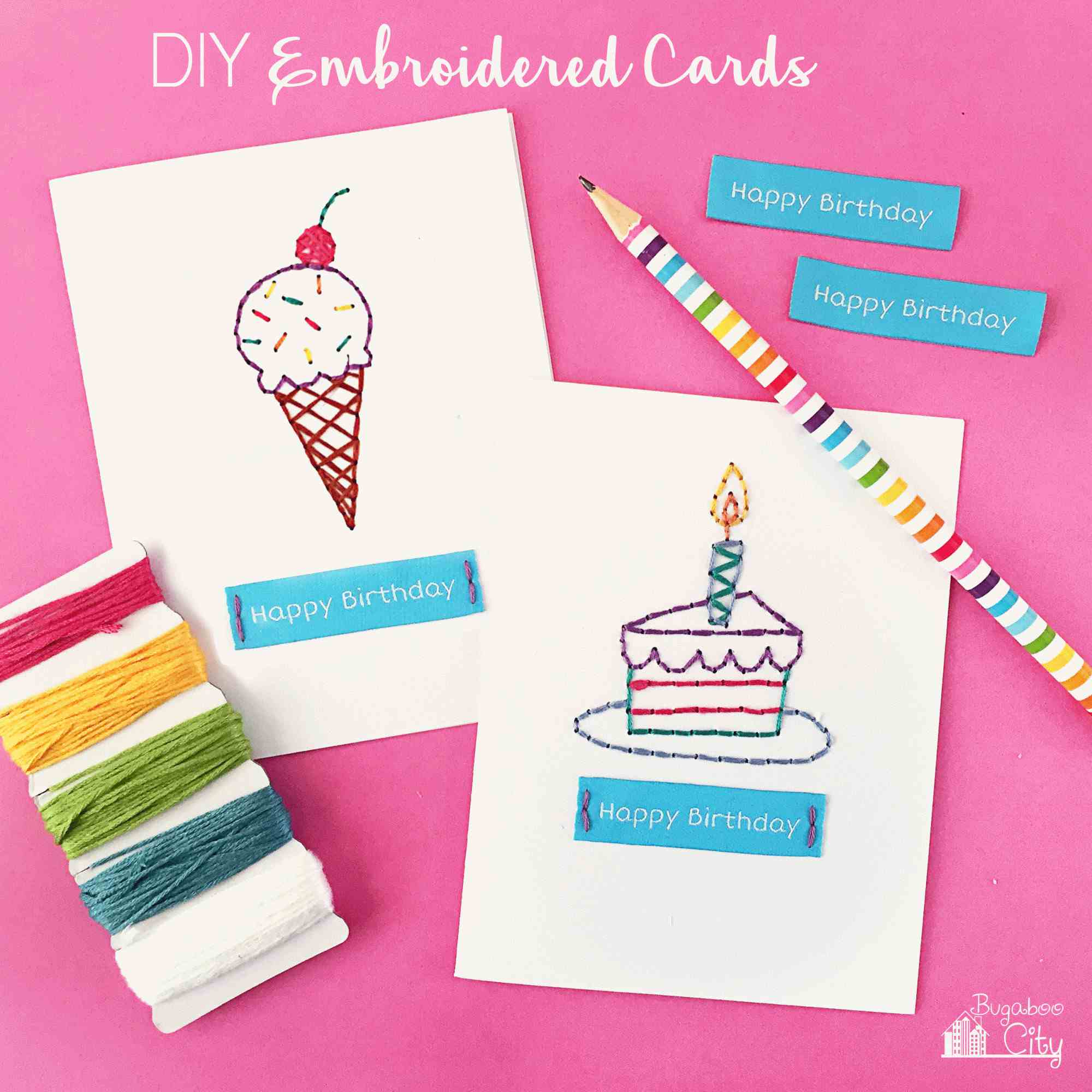 Idea For Making Birthday Cards Get Inspiration From 25 Of The Best Diy Birthday Cards