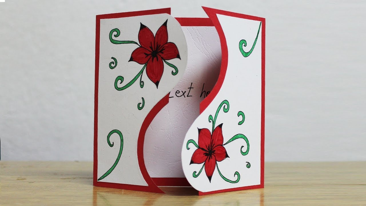 Idea For Making Birthday Cards Greeting Card Making Ideas Latest Greeting Cards Design
