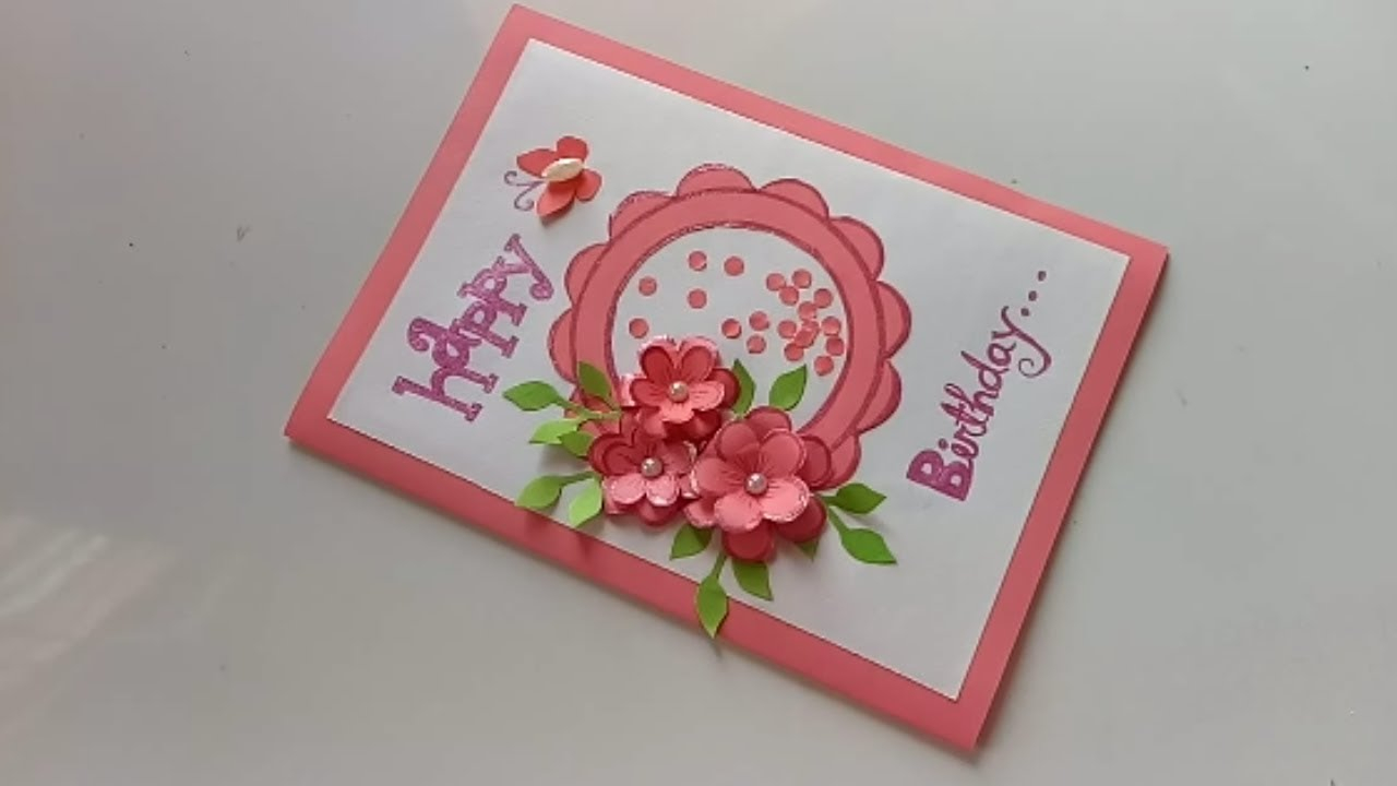 Idea For Making Birthday Cards Handmade Birthday Card Idea Diy Greeting Cards For Birthday