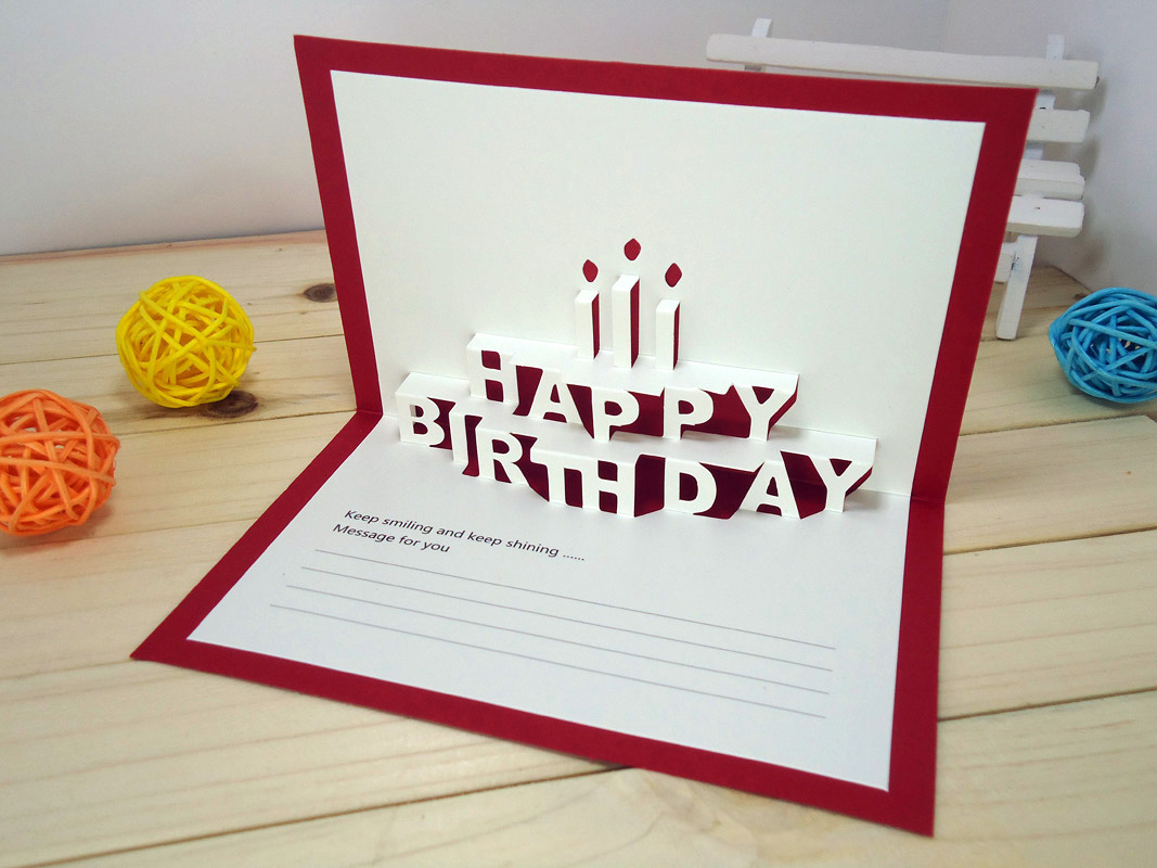 Ideas For Birthday Cards For Boyfriend How To Make A Birthday Card Supplies Tutorial Thatsweetgift