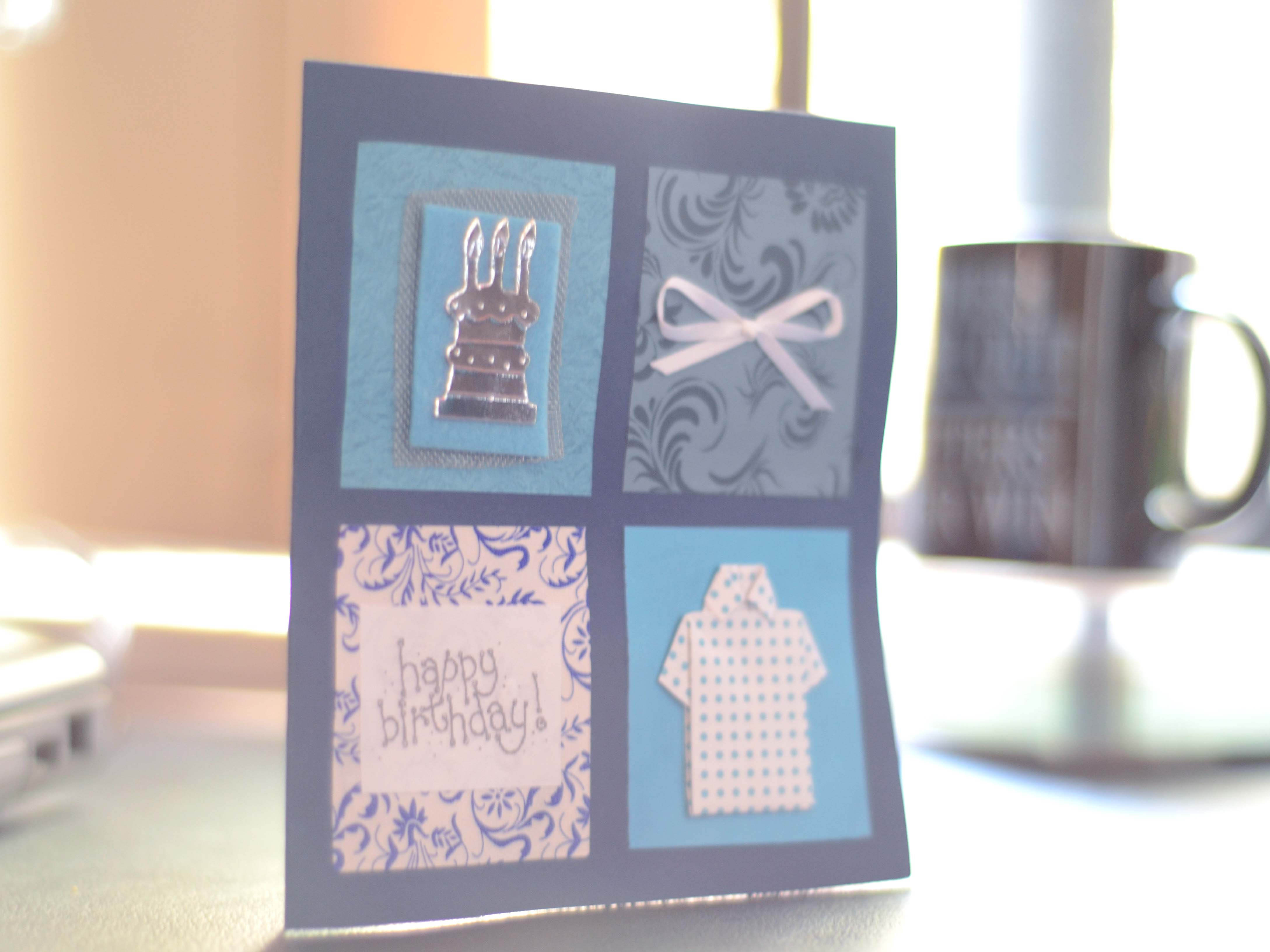 Ideas For Birthday Cards For Dads Fun Fridays Diy Birthday Cards For Dads Bittersweet Haven