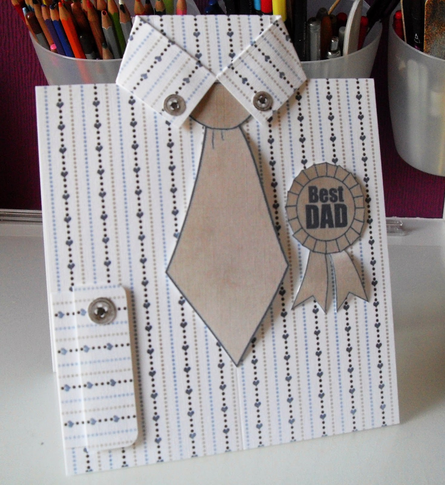 Ideas For Birthday Cards For Dads Step Step Tutorials On How To Make Diy Birthday Cards